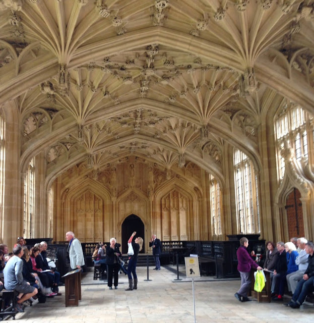 Divinity School Oxford, Harry Potter Hogwarts Infirmary