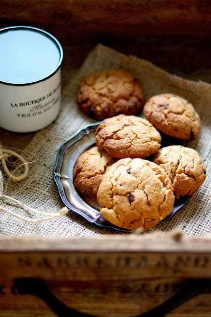 cookies con gocce di cioccolato / cookies with chocolate drops