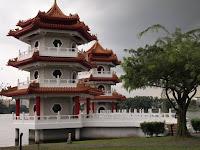 Twin Pagodas - Chinese Garden, Jurong