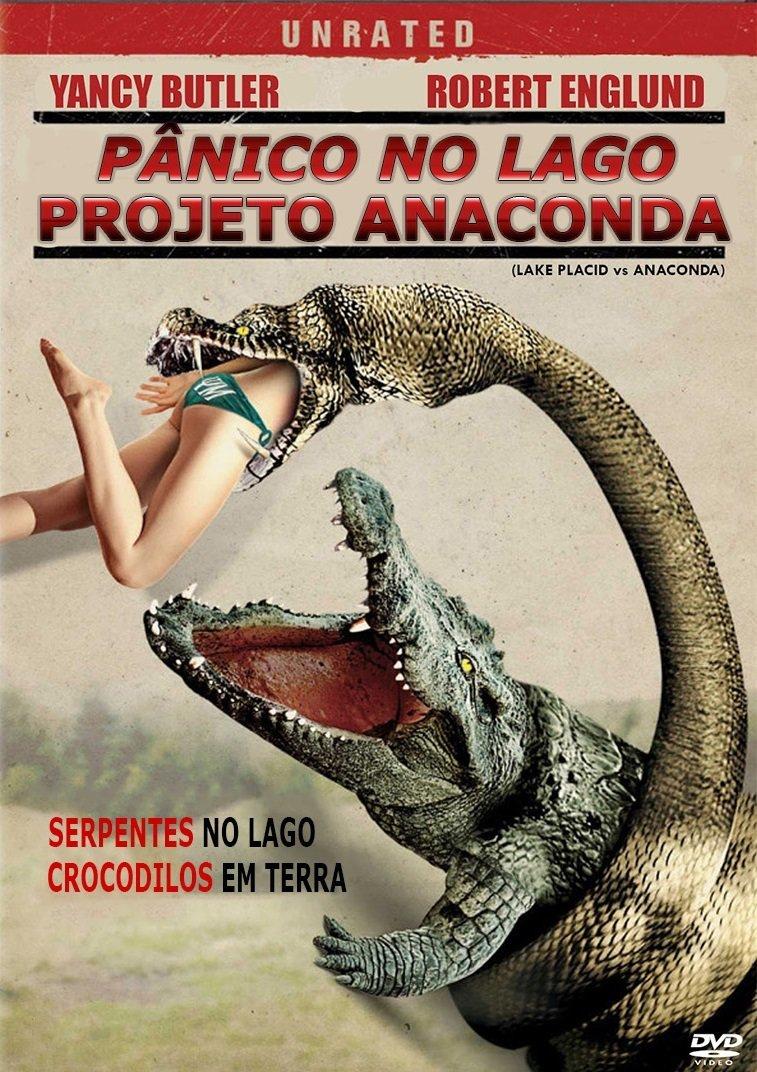 Pânico No Lago: Projeto Anaconda – Dublado (2015)
