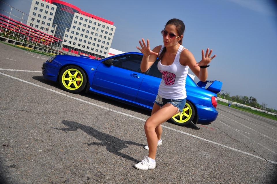 Subaru Impreza WRX STi GD, sportowy sedan, japoński, panienki i samochody, dziewczyny i auta