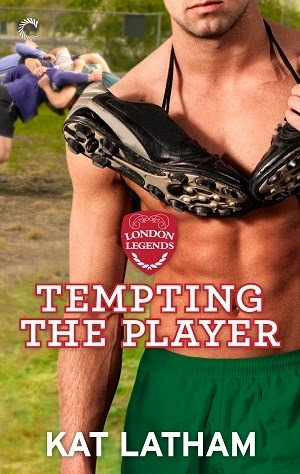 Cover for Kat Latham's Tempting the Player