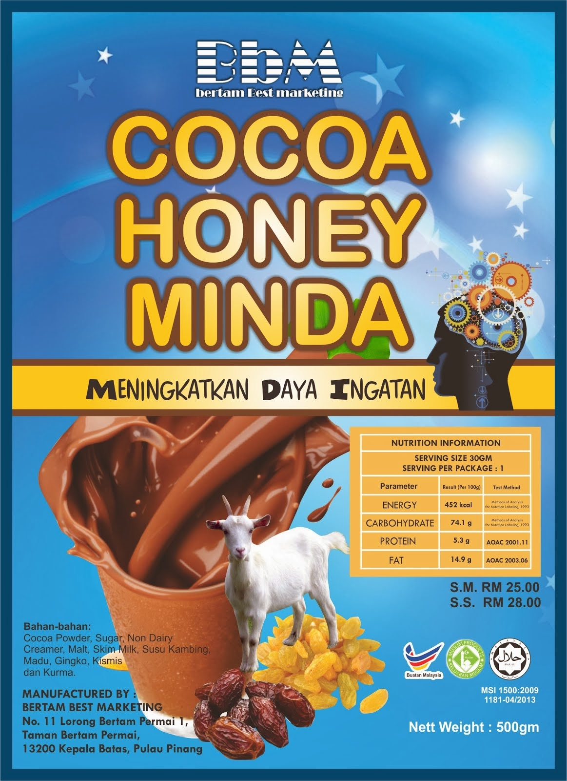 COCOA HONEY MINDA