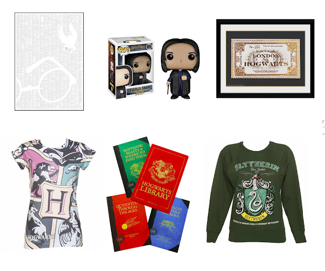 Wishlist of Harry Potter merchandise