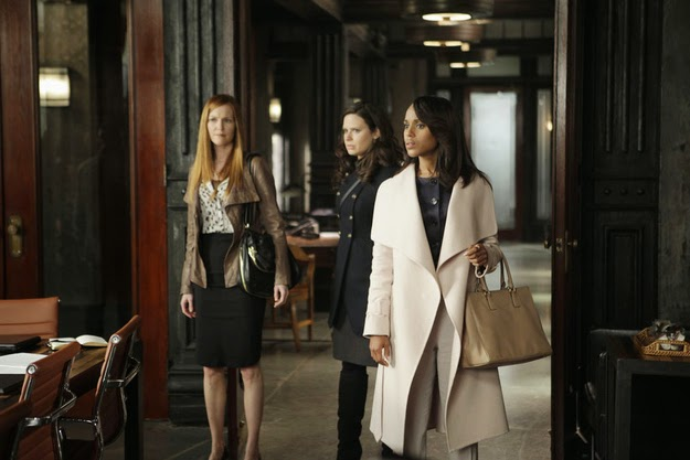 Olivia Pope cape coat