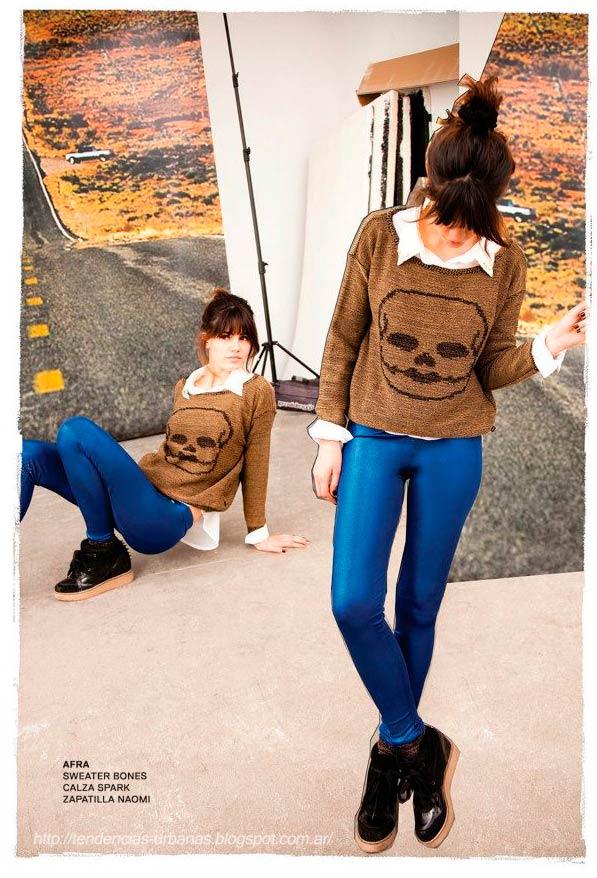 calza azul 47 Street invierno 2013