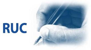 Registro Único de Contribuyente-constitución de empresas.