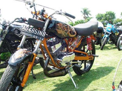 Contoh Modifikasi Yamaha Rx King
