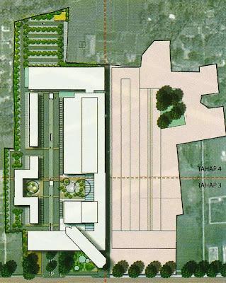 layout kawasan karya arsitek