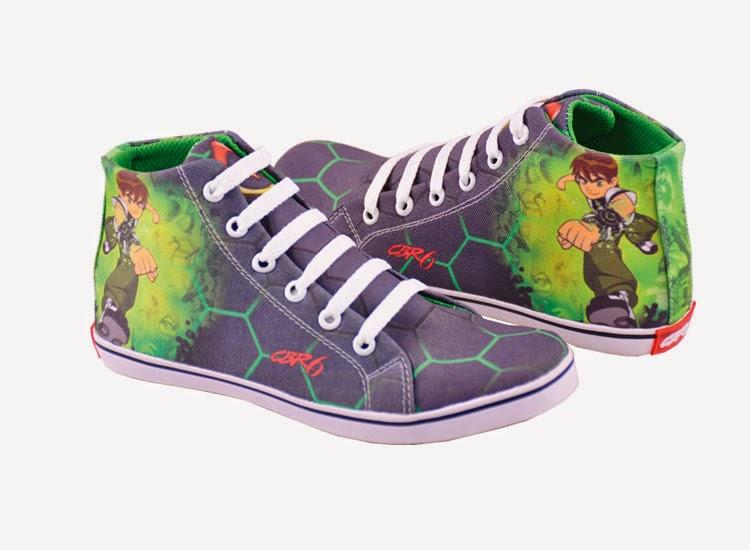 sepatu anak ben10