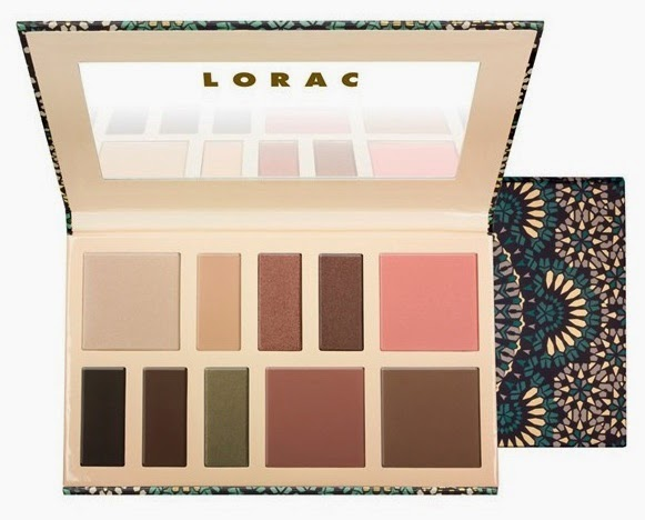 NEW from LORAC 'The Result' Eye/Cheek Palette