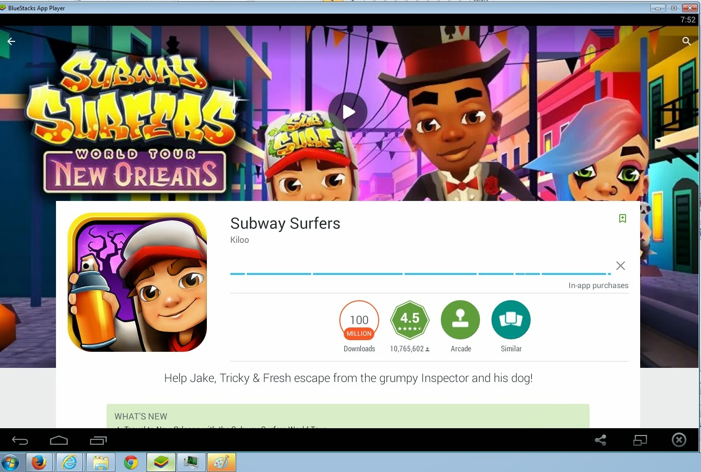 Subway Surfers for PC