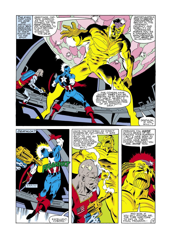 Captain America (1968) Issue #288 #204 - English 20