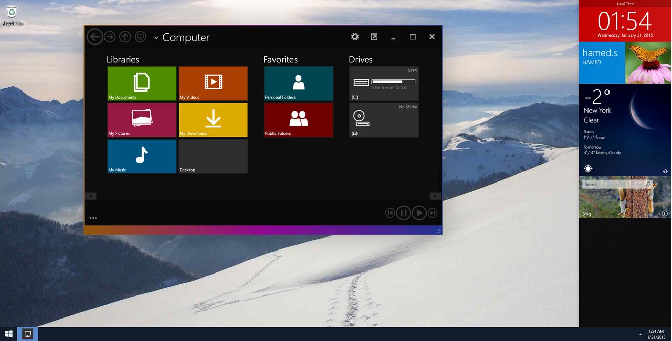 Theme Windows 10 For Windows 7 dan 8 Free