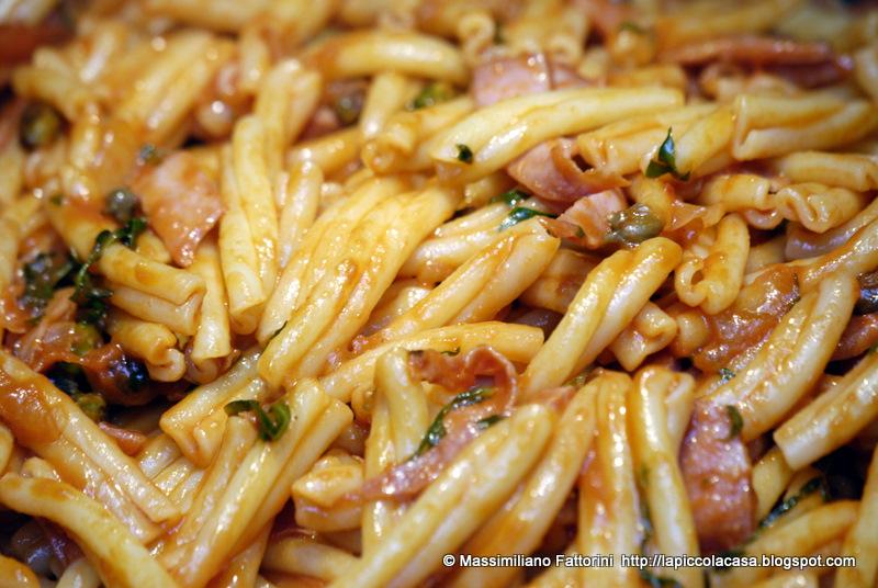 La piccola casa la ricetta per una pasta davvero gustosa for Ricette risotti veloci
