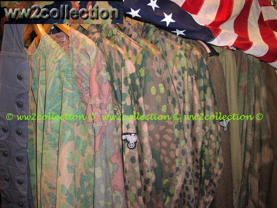 Collection Camouflage uniforms WW2