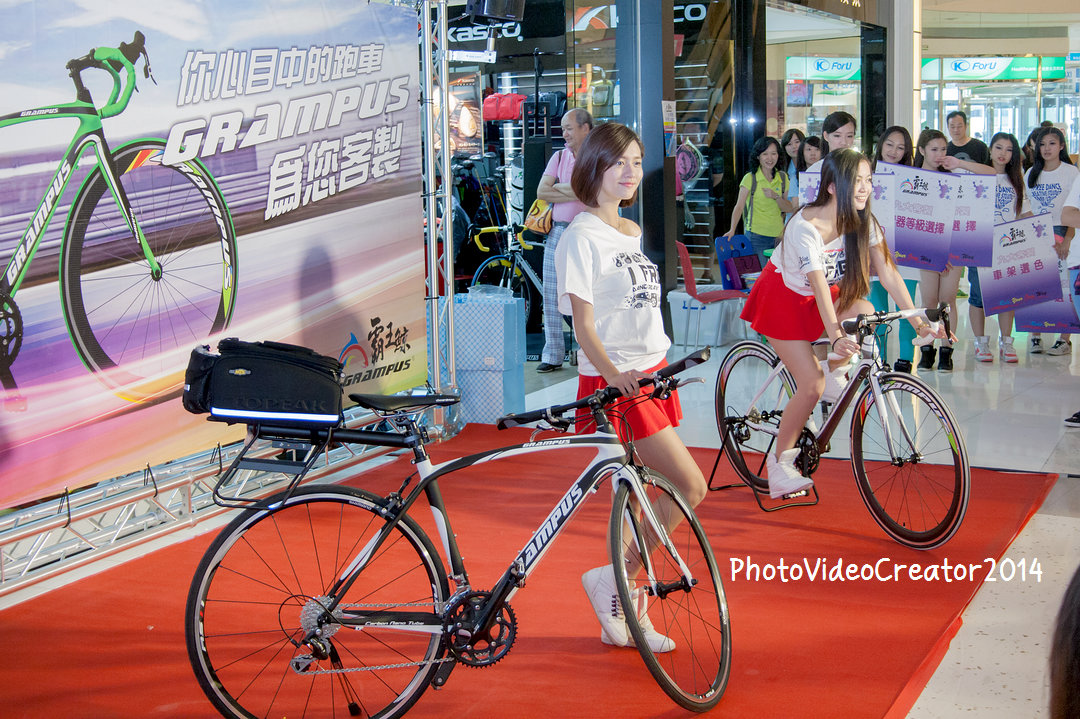 霸王鯨 Grampus 客製化自行車 SG 走秀