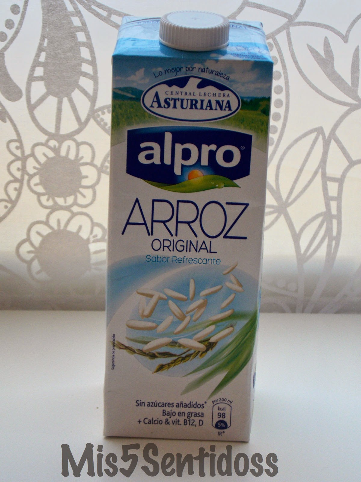 Degustabox Abril 2014 alpro bebida de arroz
