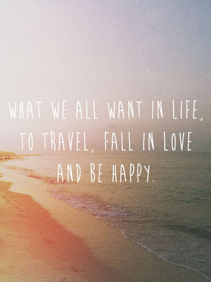 what we all want in life quote