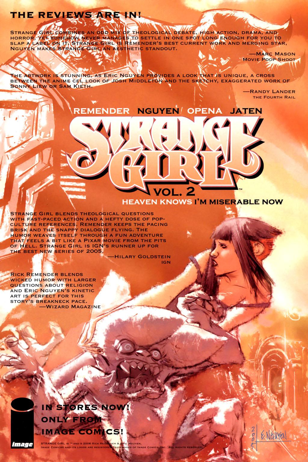 Strange Girl Issue #10 #11 - English 27