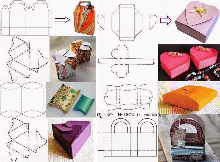 Manos a la obra reutilicemos cajas de carton y tubos - Como hacer una caja para te ...