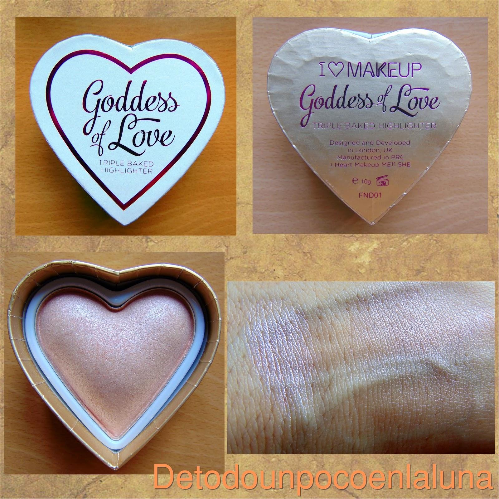 iluminador goddess of love i heart makeup