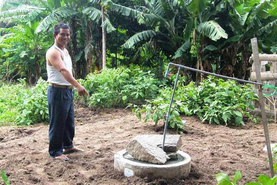 Ia Pa: Nhiều hộ dùng biogas trong chăn nuôi