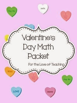 http://www.teacherspayteachers.com/Product/Valentines-Day-Math-Packet-1050876