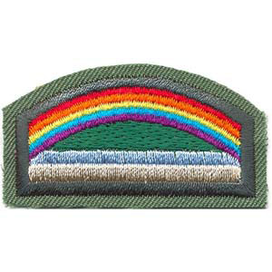 Girl scout bridge to brownies patch