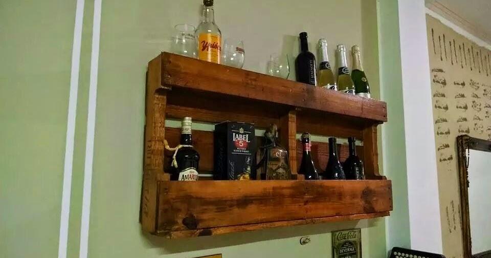 Casa paletes m veis r sticos bar for Bar para casa rustico