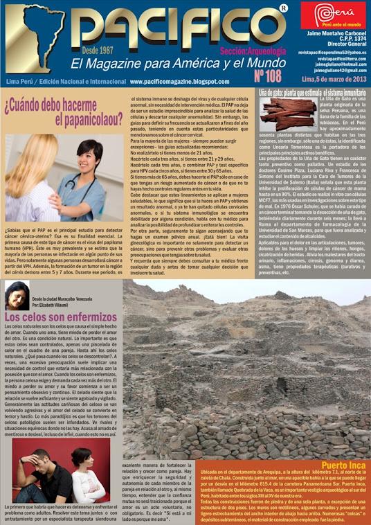 Revista Pacífico Nº 108 Arqueología