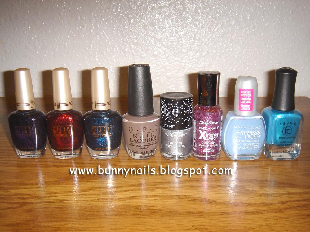 Bunny Nails: Blog Sale Nail Polish Haul