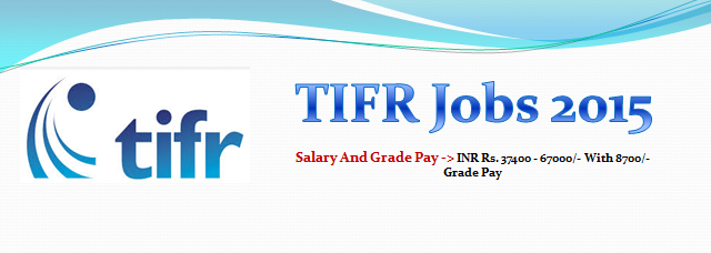 Tata Institute Of Fundamental Research Jobs 2015 Financial Advisor