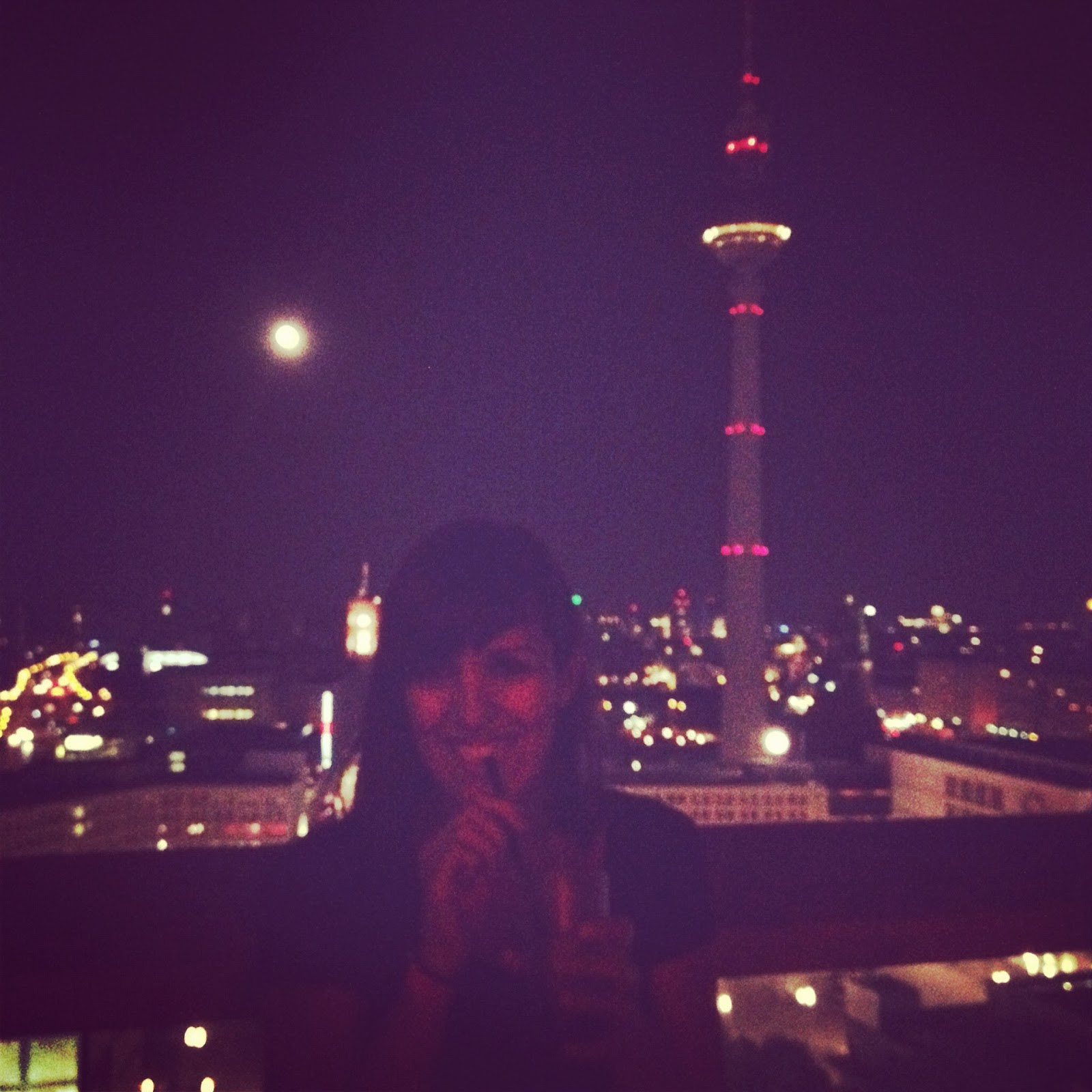 Me at Weekend Club in Alexanderplatz, Berlin