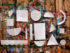 cut out paper shapes