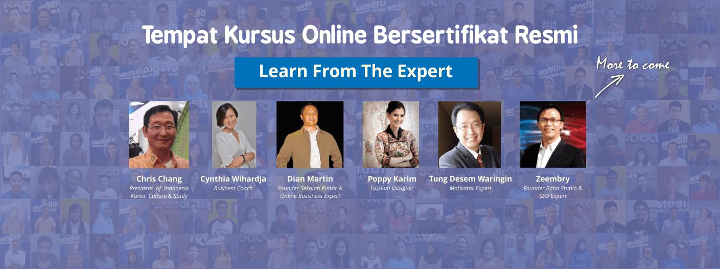 pemateri kursus online sekolah pintar