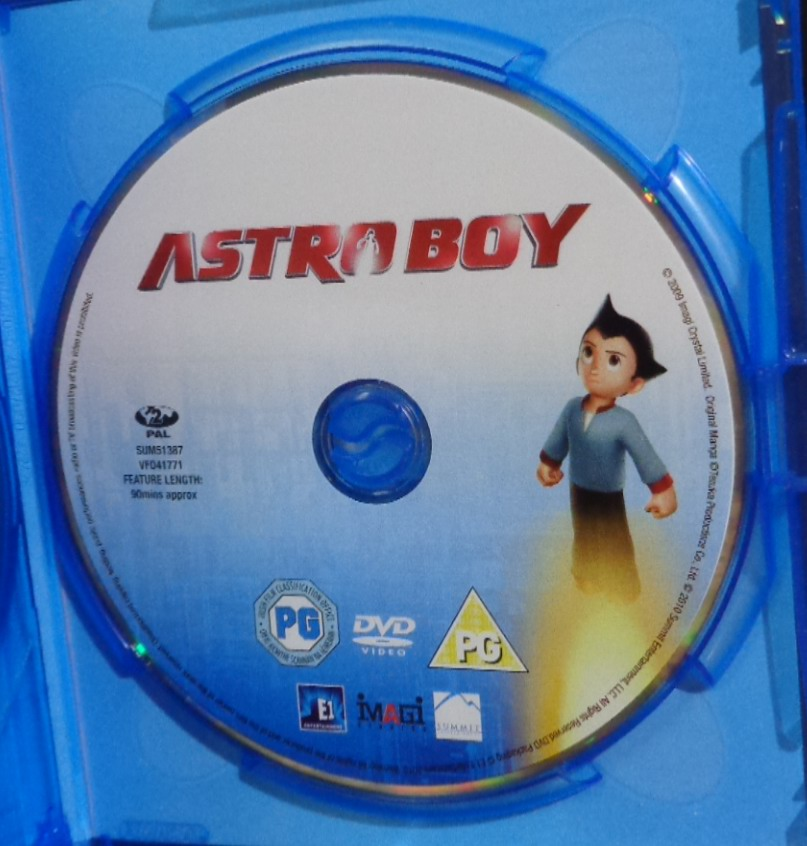 Movies On DVD And Blu-ray: Astro Boy (2009
