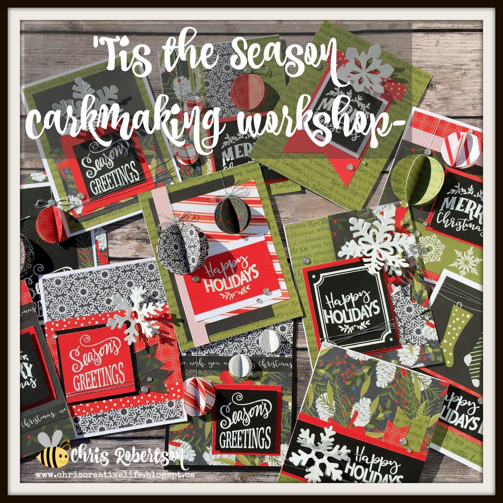 'Tis the Season Cardmaking Workshop