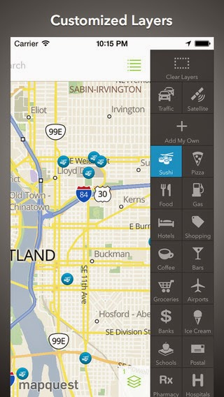 "MapQuest for iPhone gets In-route navigation, ""Nice to Know"" section and more"