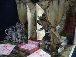 Alice Altered pop-up book
