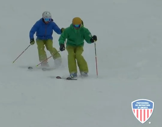 how to parallel turn skis