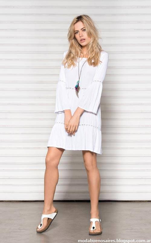 Moda verano 2016 Wupper Jeans vestidos de verano 2016. Moda 2016.