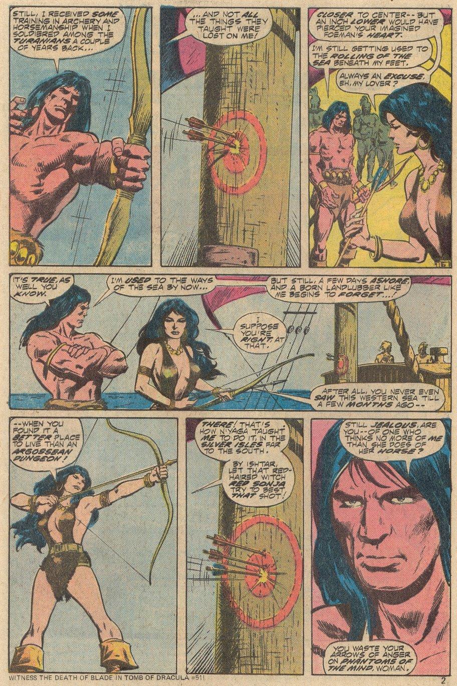 Conan the Barbarian (1970) Issue #69 #81 - English 3
