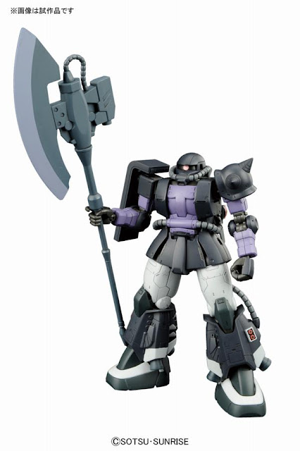 ortega zaku II black tri star close combat