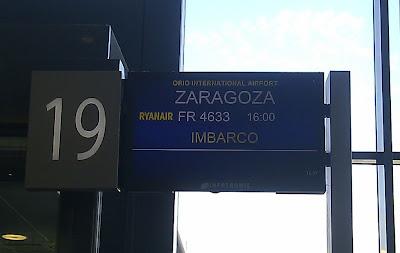 Vuelo Milan Zaragoza