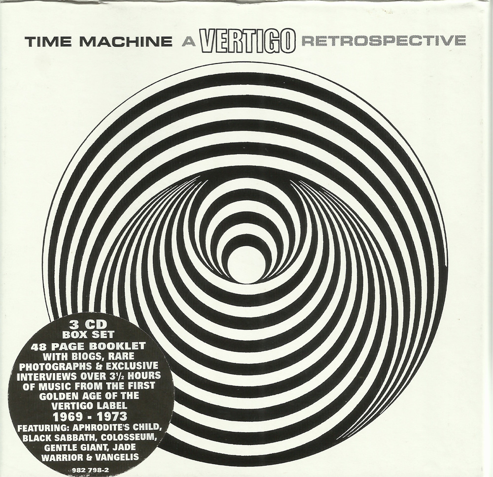 rockasteria various artists time machine a vertigo so spoke the leading counterculture magazine international times in a feature on the birth of the new so called progressive labels established by the
