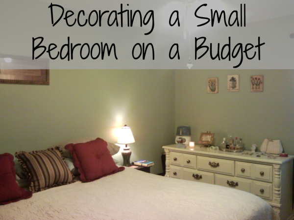 How to decorate a small bedroom cheap 5 small interior ideas - Decorating small bedroom ...
