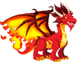 dragon fuego adulto