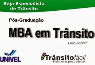 MBA em Trânsito - Cascavel/PR
