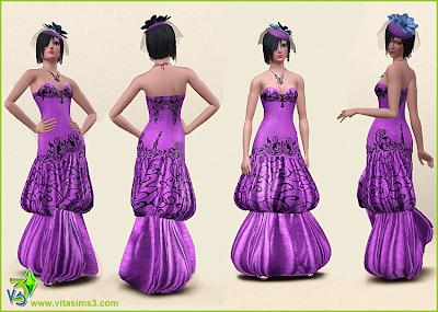 Wedding Dresses and Jewelry by Vita Sims Valandress_3